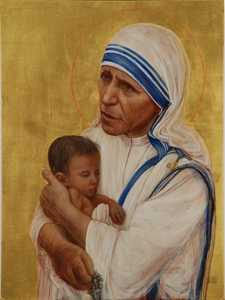 Ken Jan Woo's work  Mother Teresa of Calcutta